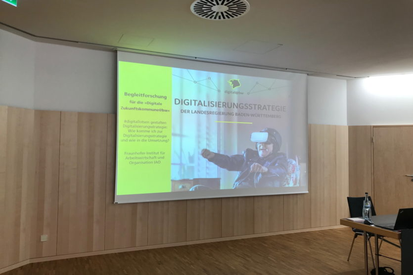 Digitallotsenevent am 24. Juli 2019 © Fraunhofer IAO Foto: Fatma Tek