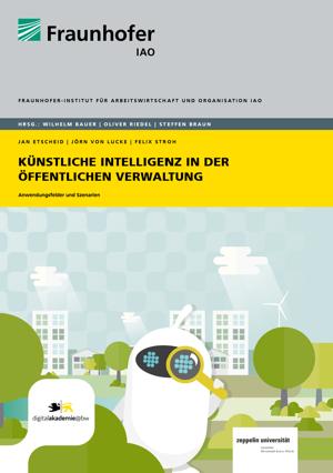 """Titelbild Studie """"Künstliche Intelligenz in der öffentlichen Verwaltung"""""""